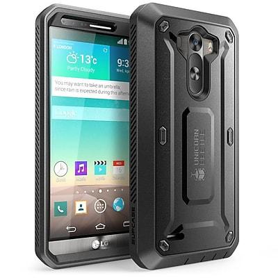 SUPCase Unicorn Beetle PRO Series Full body Hybrid Protective Case For LG G3, Black/Black