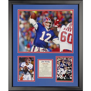 Legends Never Die NFL Buffalo Bills - Jim Kelly Framed Memorabili