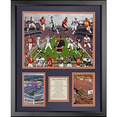 Legends Never Die NFL Denver Broncos - Bronco Greats Framed Memorabili