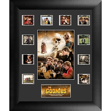 Trend Setters The Goonies Mini Montage FilmCell Presentation Framed Vintage Advertisement