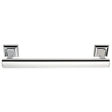 Alno Manhattan 14'' Wall Mounted Towel Bar; Polished Chrome