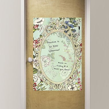Brewster Home Fashions WallPops Dry Erase Vintage Bazaar Whiteboard Wall Decal