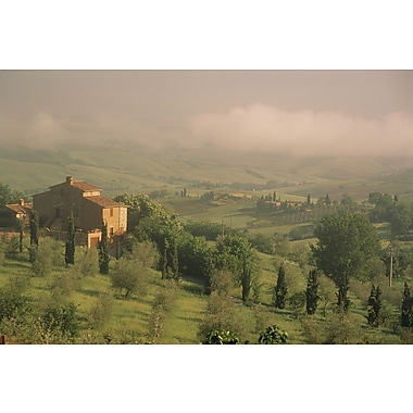 Brewster Home Fashions National Geographic Tuscan Farm Countryside Wall Mural