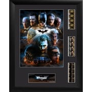 Batman The Dark Knight Trilogy Triple FilmCell Presentation Framed Vintage Advertisement