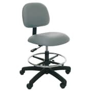 Industrial Seating Low-Back Drafting Chair; Grey