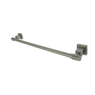 Kingston Brass Fortress 18'' Wall Mounted Towel Bar; Oil Rubbed Bronze