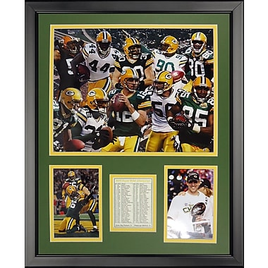 Legends Never Die NFL Green Bay Packers - 2010 Champs Framed Memorabilia
