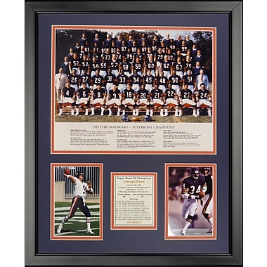 Legends Never Die NFL Chicago Bears - 1985 Bears Framed Memorabili