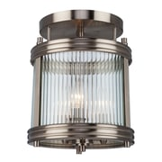 Artcraft Lighting Bankroft 3-Light Semi Flush Mount