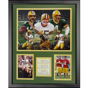 Legends Never Die NFL Green Bay Packers - Packer Quarterbacks Framed Memorabilia