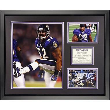 Legends Never Die NFL Baltimore Ravens - Ray Lewis Home Framed Memorabili