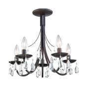 Artcraft Lighting Terramo 5-Light Candle-Style Chandelier; Bronze