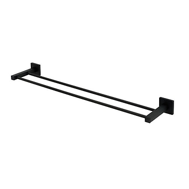 Alno Contemporary II Double 26'' Wall Mounted Towel Bar; Bronze