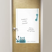Brewster Home Fashions WallPops Giant Novelty Leave A Message Whiteboard Wall Decal