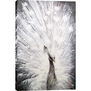 Hobbitholeco. Radiant Feathers by Tina O. Painting on Wrapped Canvas