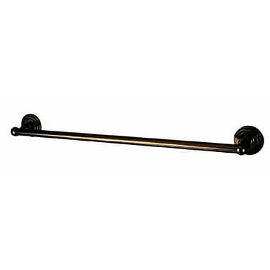 Elements of Design Milano 24'' Wall Mounted Towel Bar; Oil Rubbed Bronze