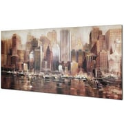 Hobbitholeco. Watercity by Johnathan Pryce Graphic Art on Wrapped Canvas