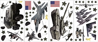 Brewster Home Fashions WallPops Military Wall Decal