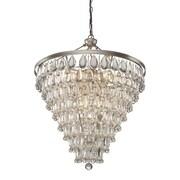 Artcraft Lighting Pebble 11-Light Crystal Chandelier