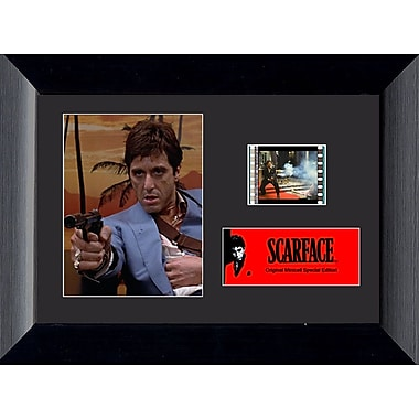 Trend Setters Scarface Mini FilmCell Presentation Framed Vintage Advertisement