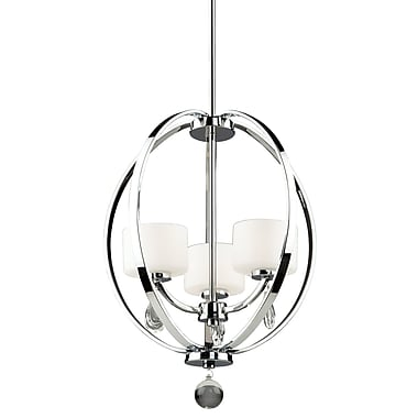 Artcraft Lighting Piccadilly 3-Light Globe Pendant