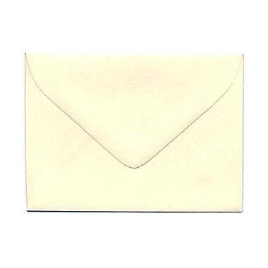 JAM PaperMD – Enveloppes miniatures ivoire, 2 3/4 x 3 3/4; 100 enveloppes