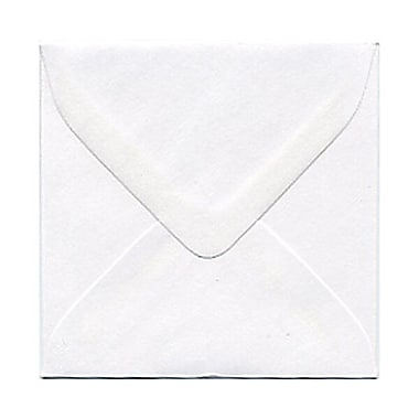 JAM Paper® 3.125 x 3.125 Mini Square Envelopes, White, 100/Pack (201229A)
