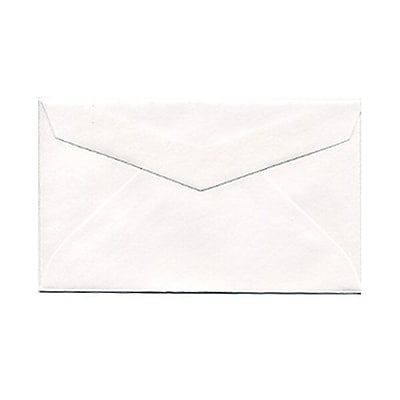 JAM Paper® 2Pay Mini Small Envelopes, 2.5 x 4.25, White, 100/pack (201215A)