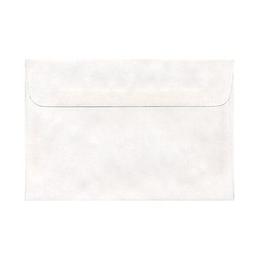 JAM Paper® A8 Envelopes with Short Flap, 5.5 x 8.125, White, 25/pack (MOMV751)