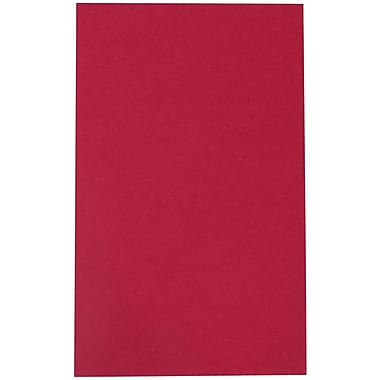 JAM Paper® Matte Legal Cardstock, 8.5 x 14, 80lb Bakri Raspberry, 50/pack (A64426899)