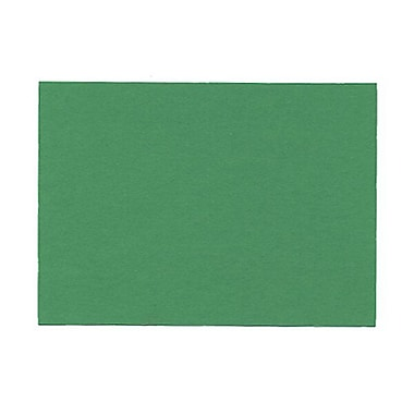 JAM Paper® Blank Note Cards, A2 size, 4.25 x 5.5, Green, 100/pack (175968)