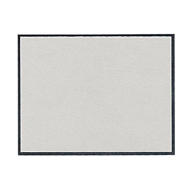 JAM Paper® Blank Note Cards, A2 size, 4.25 x 5.5, Grey Linen, 500/box (01754868B)
