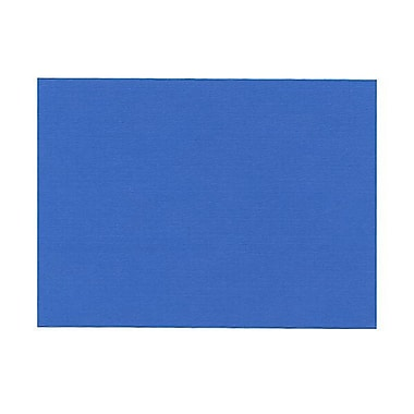JAM Paper® Blank Note Cards, A6 size, 4.63 x 6.25, Blue Linen, 100/Pack (175988)