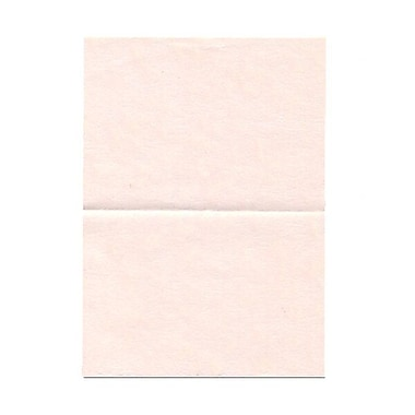 JAM Paper® Blank Foldover Cards, 4bar / A1 size, 3.5 x 4.88, Pink Parchment, 100/Pack (309890)