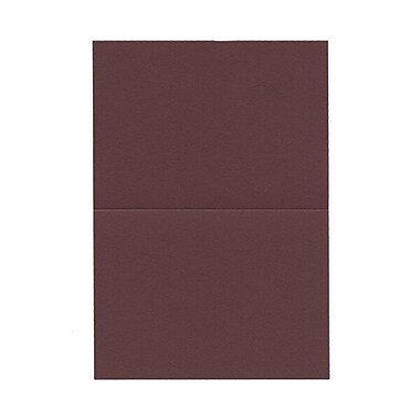 JAM Paper® Blank Foldover Cards, 4bar / A1 size, 3.5 x 4.88, Burgundy, 100/Pack (230913086)