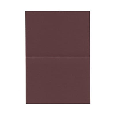 JAM Paper® Blank Foldover Cards, 4bar / A1 size, 3 1/2 x 4 7/8, Burgundy, 100/pack (230913086)