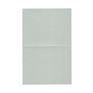 JAM Paper® Blank Foldover Cards, A2 size, 4.25 x 5.5, Stardream Metallic Pearl Juniper, 50/Pack (69321449)