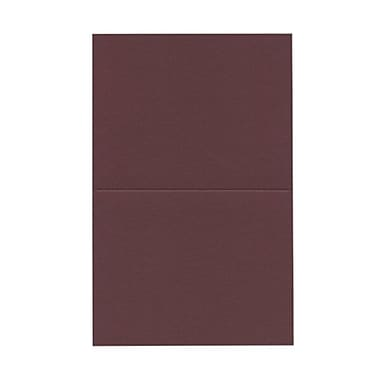 JAM Paper® Blank Foldover Cards, A2 size, 4.38 x 5 7/16, Burgundy, 500/Pack (330913102B)