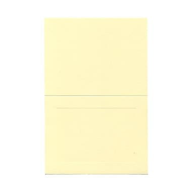 JAM Paper® Blank Foldover Cards, A7 size, 5 x 6 5/8, Ivory Panel, 100/pack (309943)