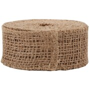 JAM Paper® Burlap Ribbon, 1.5 inch wide x 10 Yards, Natural Brown, Sold Individually (344226942)