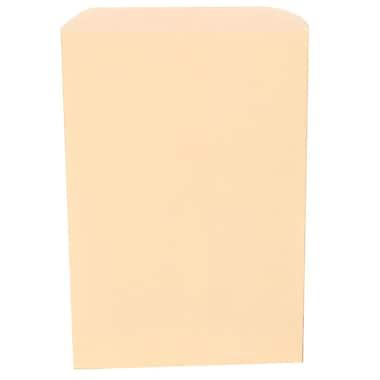 JAM Paper® Merchandise Bags, Small, 6.25 x 9.25, Ivory, 1000/carton (342126872)
