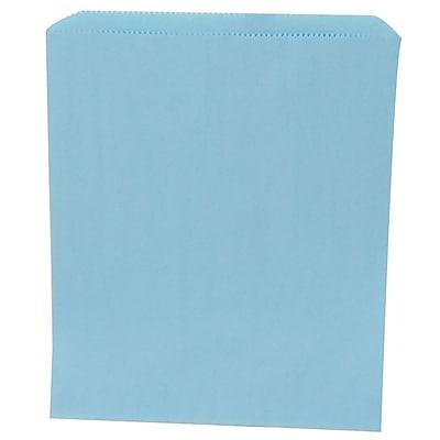 JAM Paper® Merchandise Bags, Medium, 8.5 x 11, Baby Blue, 1000/carton (342126786)