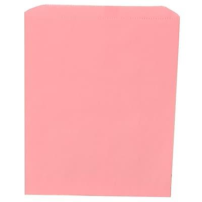 JAM Paper® Merchandise Bags, Medium, 8.5 x 11, Baby Pink, 1000/carton (342126824)