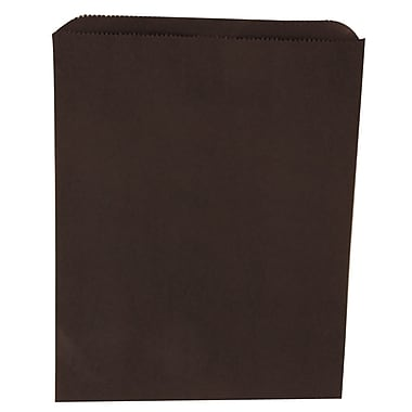 JAM Paper® Merchandise Bags, Medium, 8.5 x 11, Black, 1000/carton (342126860)