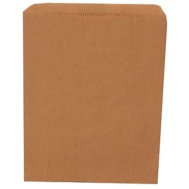 JAM Paper® Merchandise Bags, Medium, 8.5 x 11, Brown Kraft Recycled, 1000/carton (342126848)