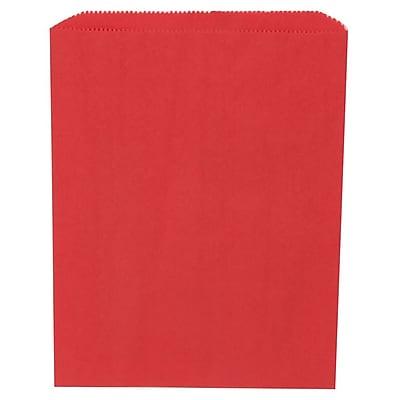 JAM Paper® Merchandise Bags, Medium, 8.5 x 11, Red, 1000/carton (342126832)