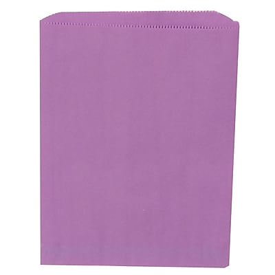 JAM Paper® Merchandise Bags, Medium, 8.5 x 11, Violet Purple, 1000/carton (342126866)
