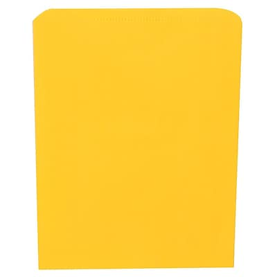 JAM Paper® Merchandise Bags, Medium, 8.5 x 11, Yellow, 1000/carton (342126815)