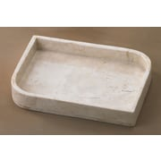 Creative Home Champagne Marble Contempt Tray
