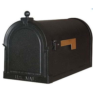 Special Lite Products Berkshire Post Mounted Mailbox; Verde Green